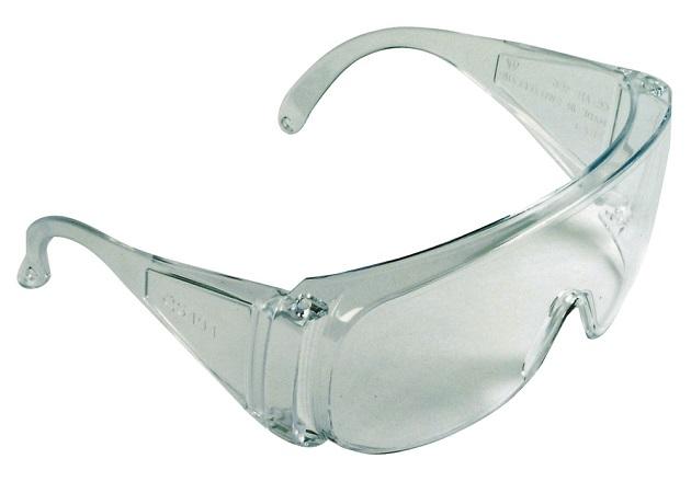 Ochranné okuliare s čírym polykarbonátovým panoramatickým zorníkom triedy  F fba641e4261